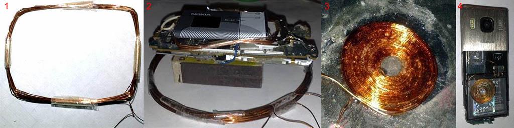 Беспроводная зарядка своими руками из зарядника 40