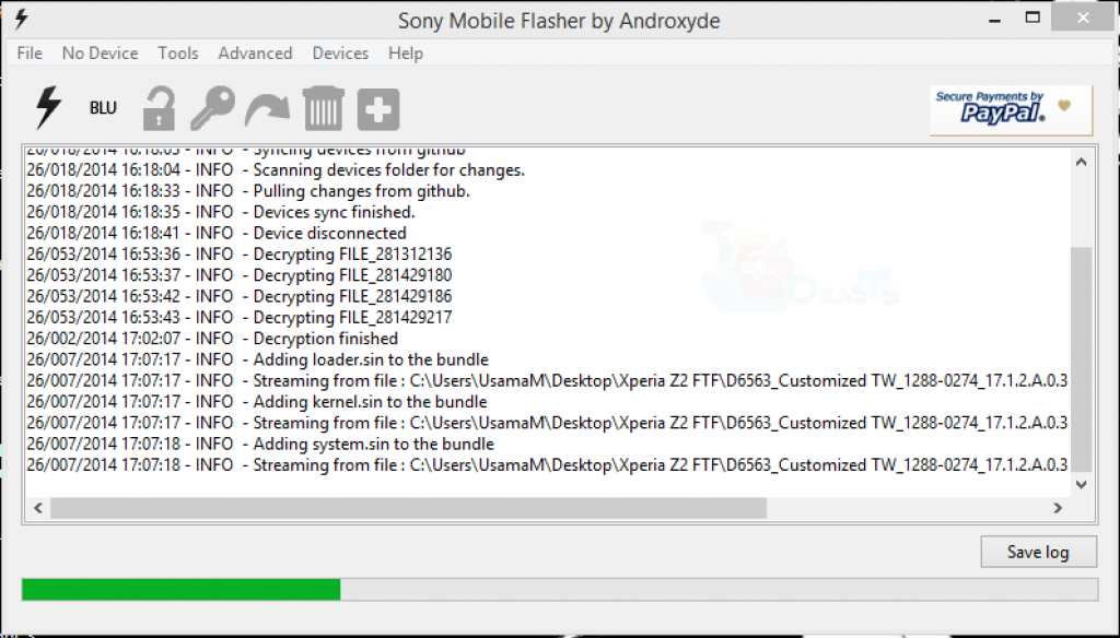 Firmware ftf than flashing  Firmware for Sony Ericsson Xperia