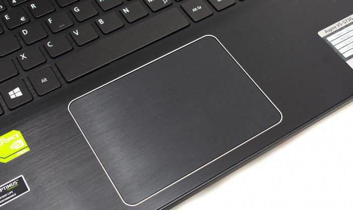 The scroll bar on the touchpad does not work  What to do if the